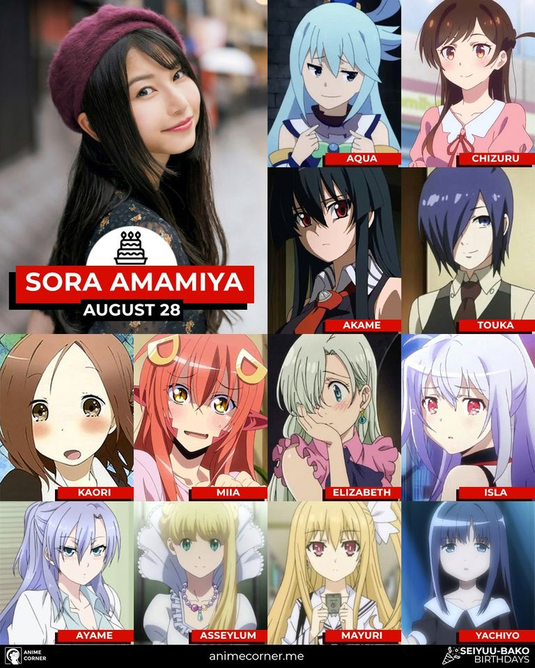 Sora Amamiya characters feature from Anime Corner