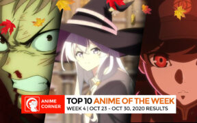 Fall 2020 Anime Rankings Week 4 Web Featured Image