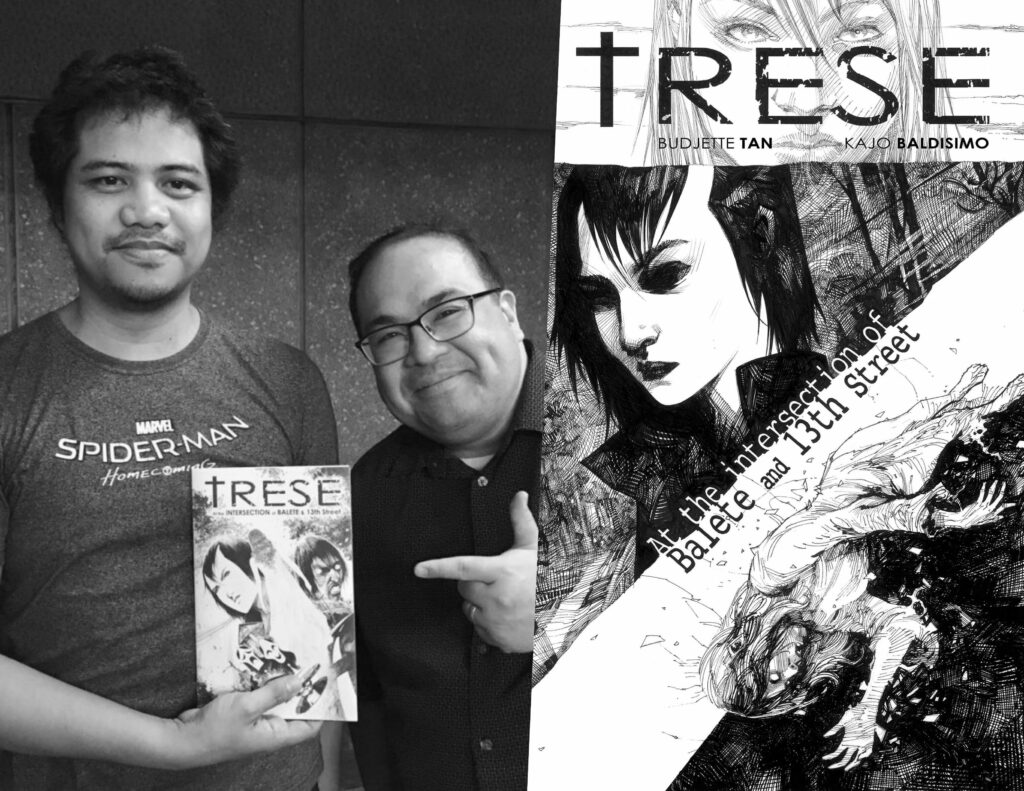 TRESE author and artist