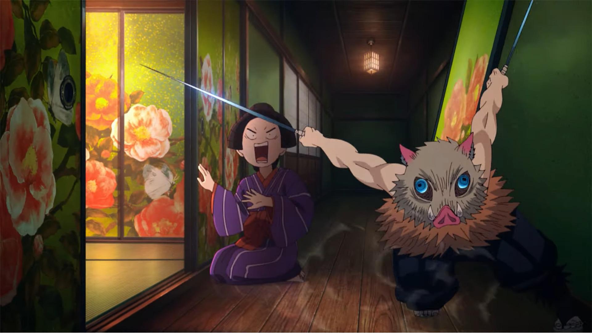 japanese parents demon slayer season 2 - trailer screenshot