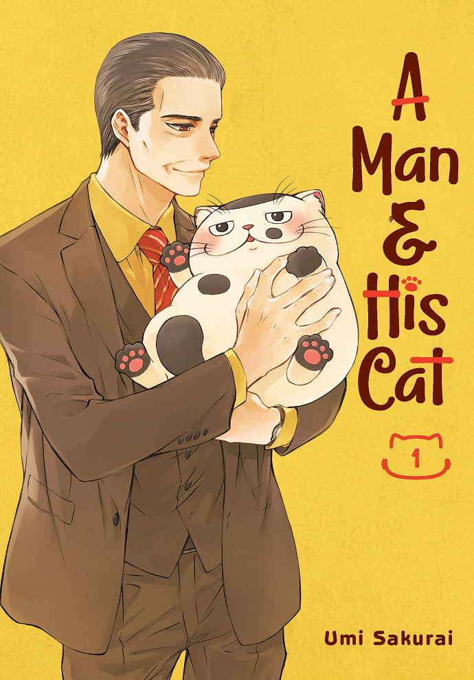 A Man and His Cat Manga Cover