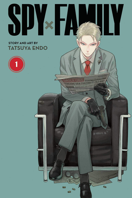 Top 10 Manga AnimeJapan 2021 - Spy x Family Manga Cover