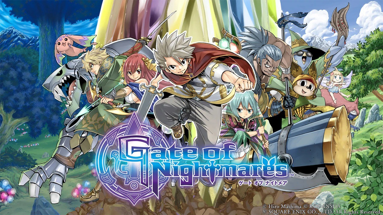 gate of nightmares game fairy tail creator