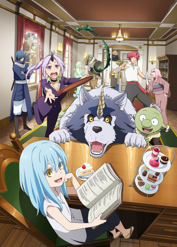 The Slime Diaries 12 episodes - key visual