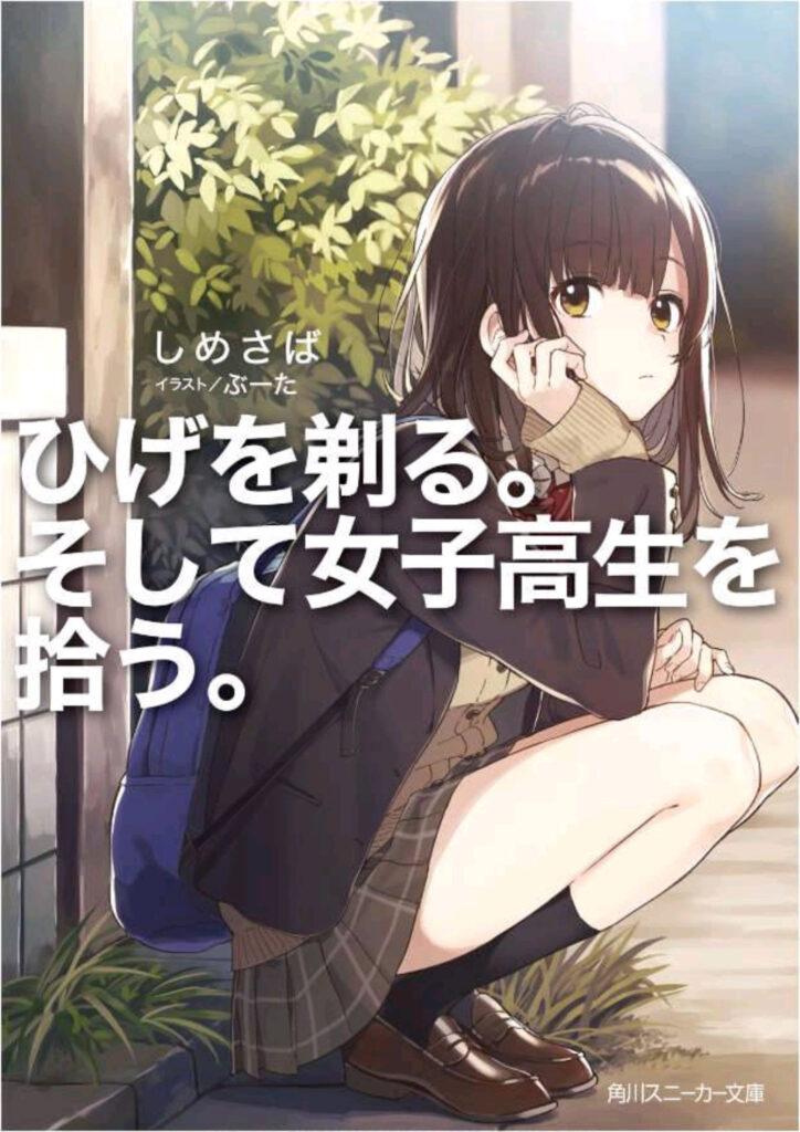 higehiro light novel ending - cover of the 1st volume