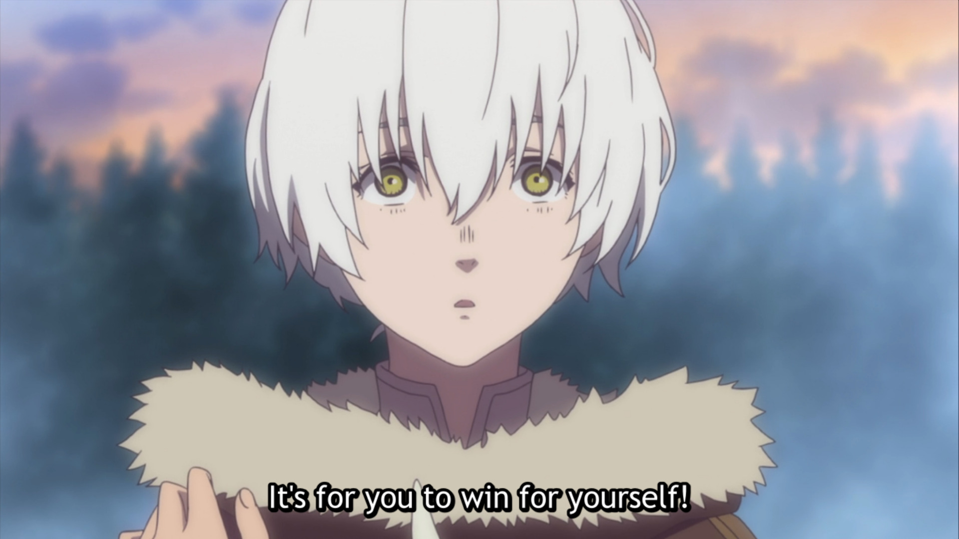 To Your Eternity Episode 5 — Fushi and Panora's farewell