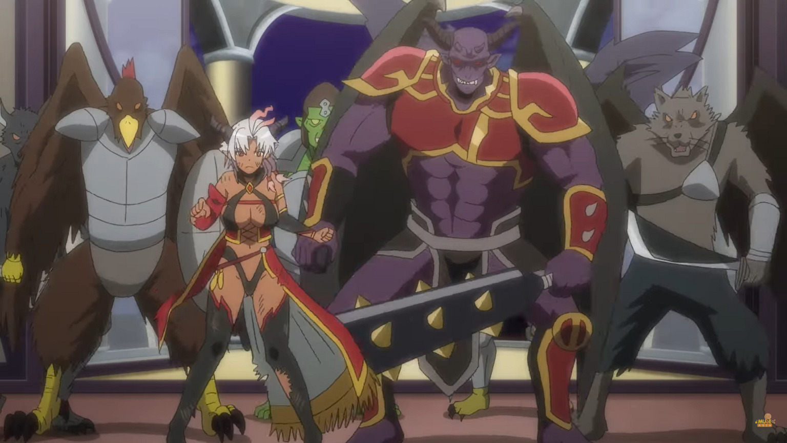 Arrival-of-the-demon-lord's-army-in-the-castle