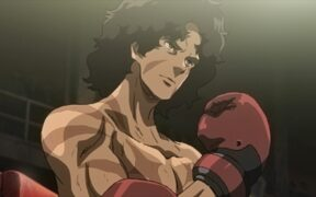 Gearless Joe returns to the underground ring in Nomad Megalo Box 2