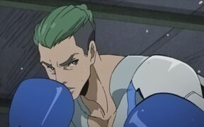 Screenshot of Liu from Nomad Megalo Box 2