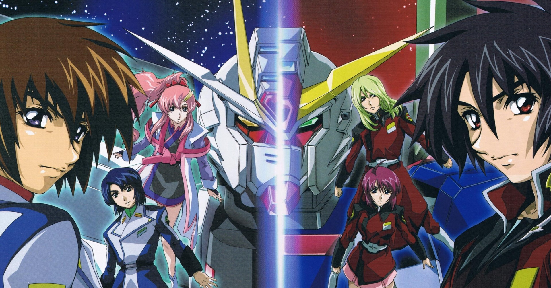 Mobile Suit Gundam Seed And Seed Destiny header