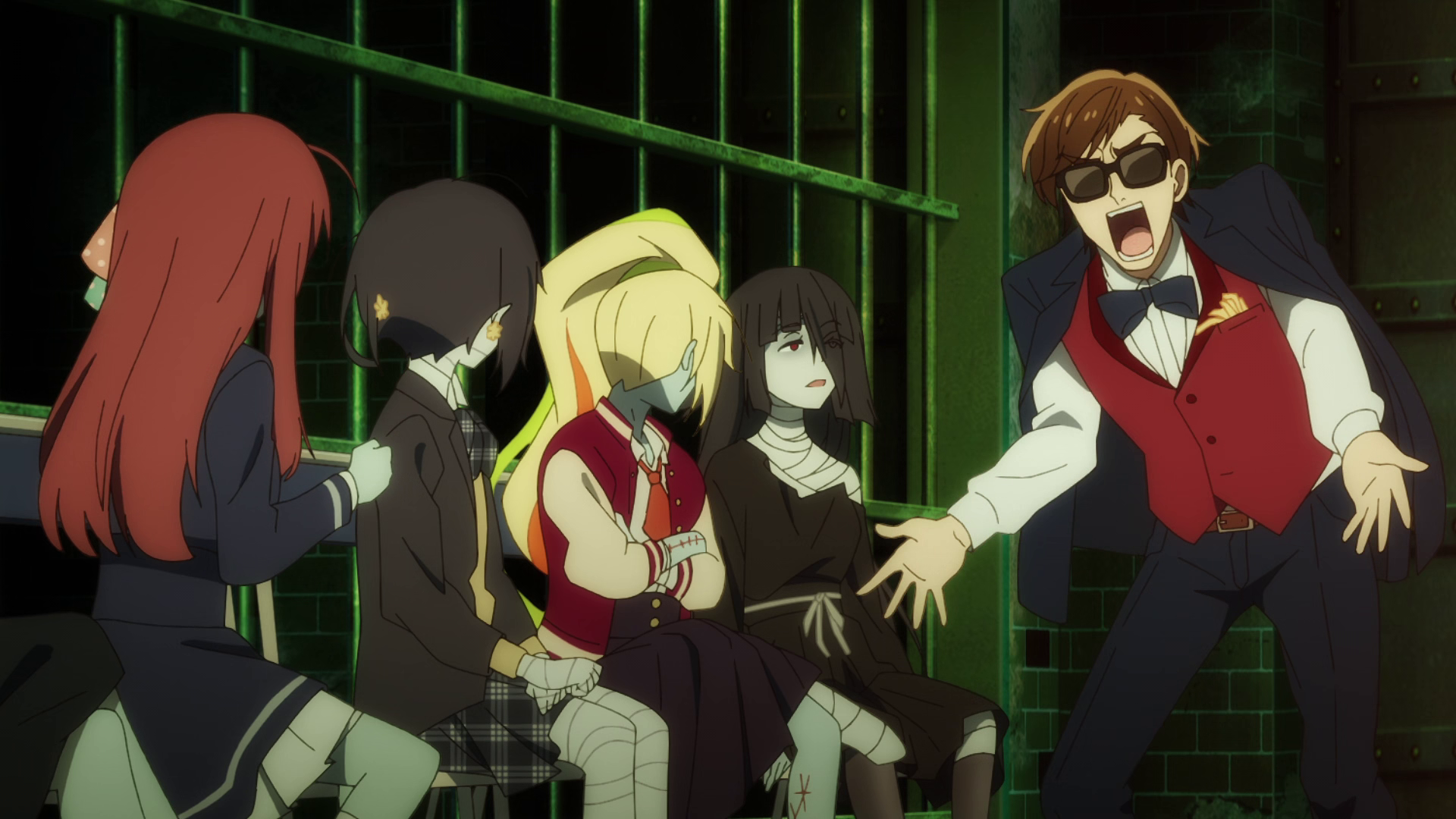 """Zombieland Saga Revenge Episode 6 - Strategy Meeting to Pay debt. """"Sleeping doesn't earn!"""""""