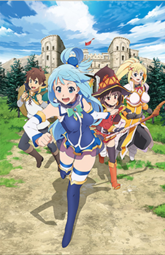 The 9 Best Shows For Anime Newcomers: KonoSuba