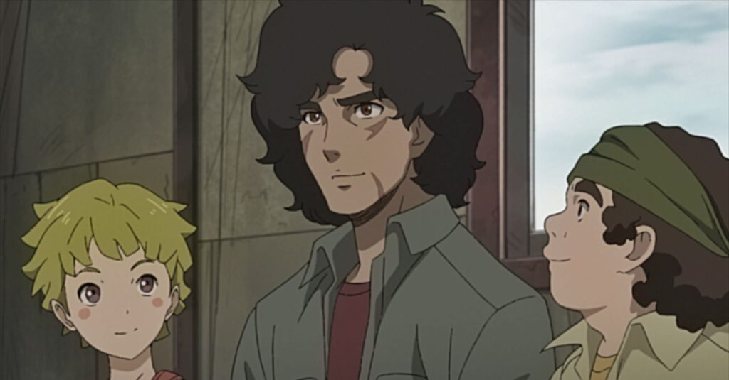 Joe and cast in Megalo Box 2