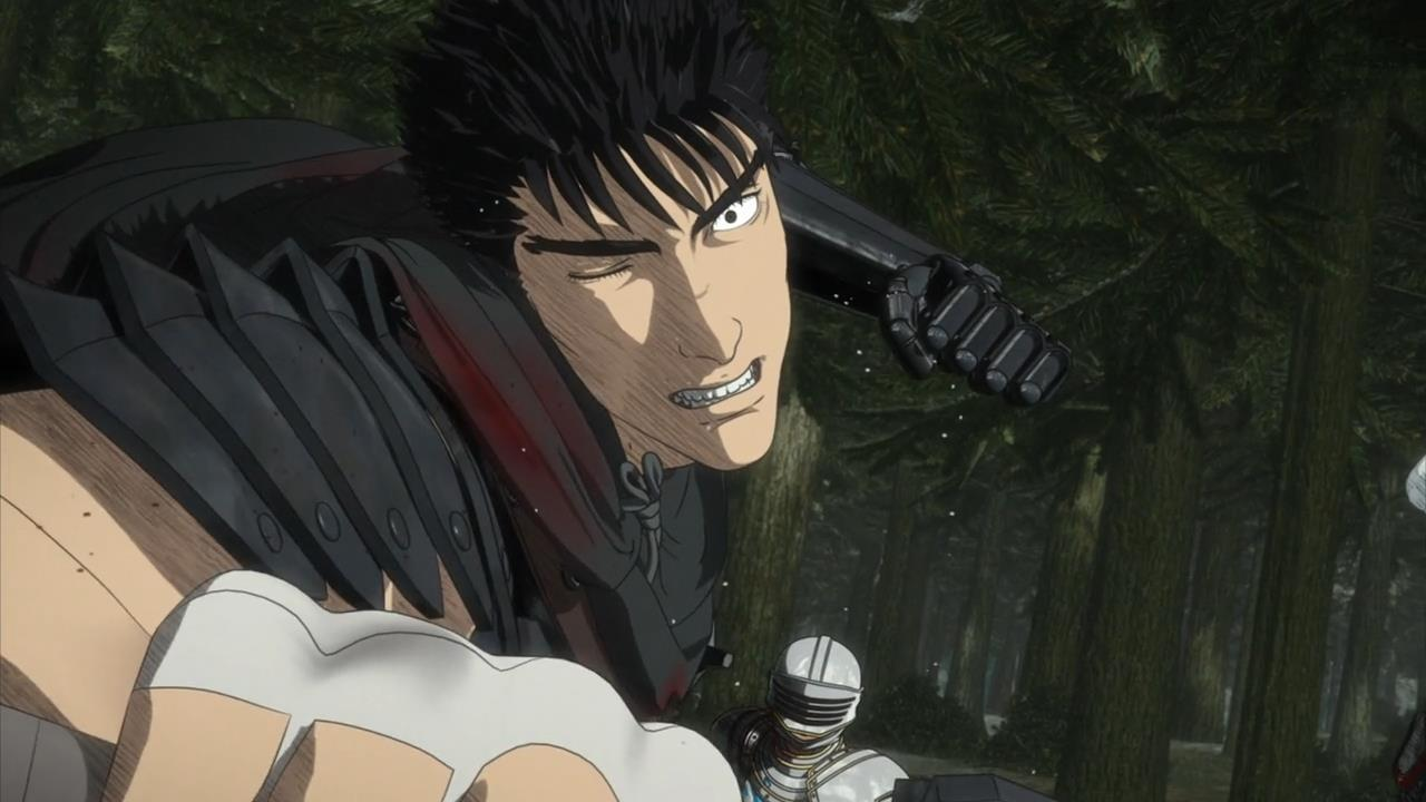 Screenshot from the anime