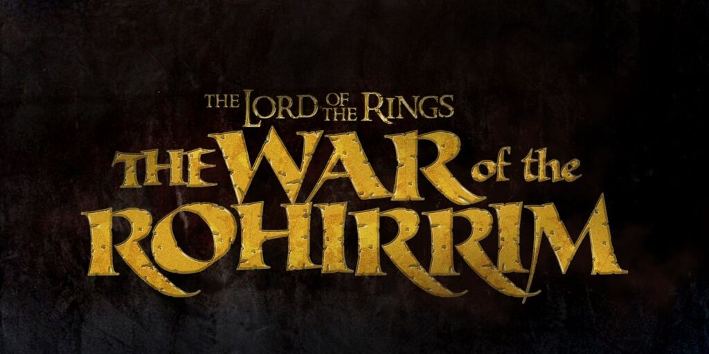 The Lord Of The Rings: The War Of The Rohirrim title art