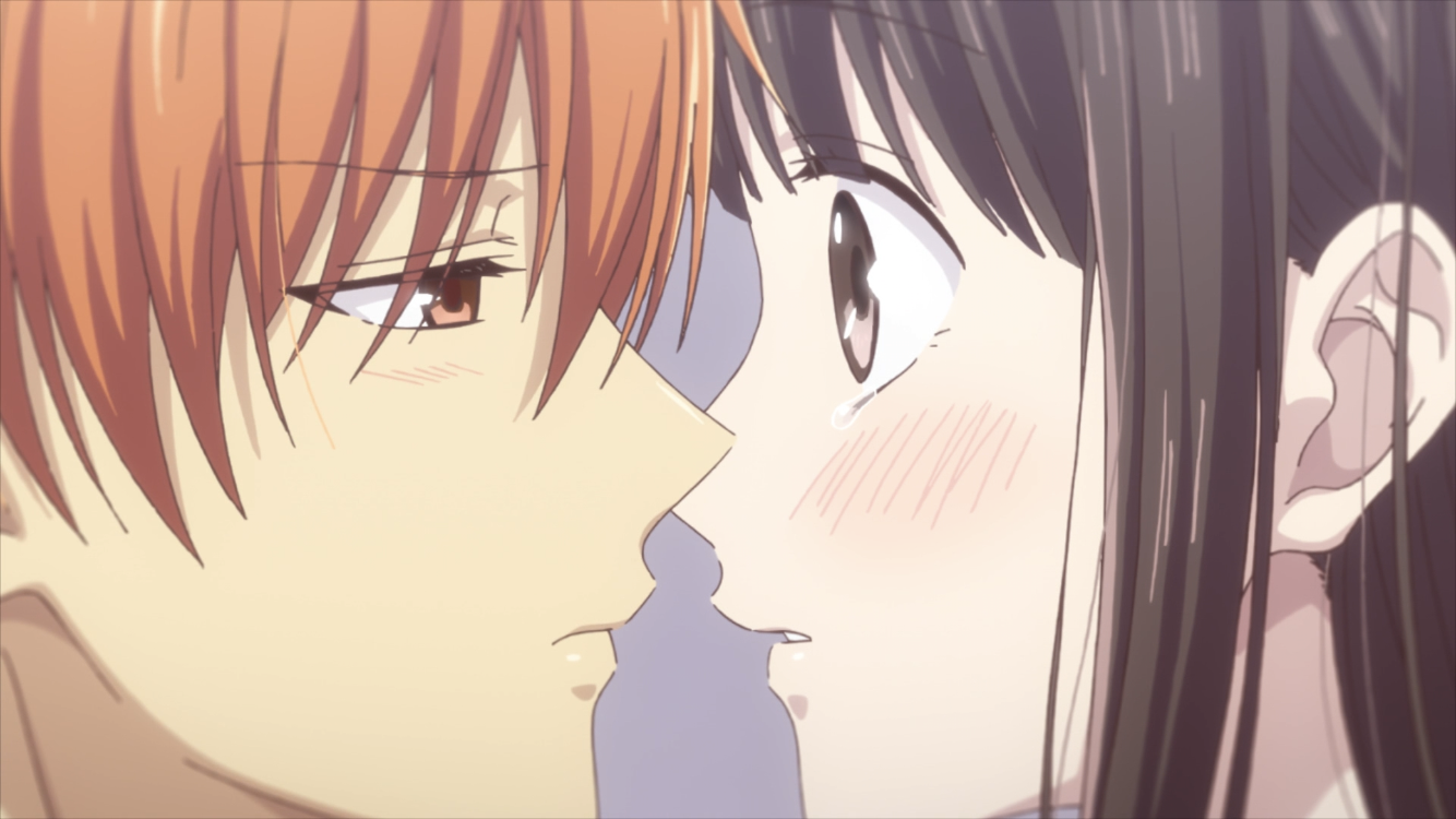 Fruits Basket: The Final - Kyo and Tohru's second kiss